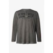 Angelo Litrico Shirt van biokatoen met lange mouwen