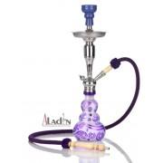 Aladin Loop 55 cm vízipipa — lila