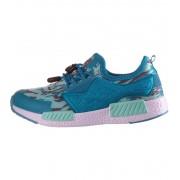 ALPINE PRO BALCEO Dětská sportovní obuv KBTN188695 River blue 25