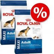 2x15kg Maxi Adult Royal Canin Size Hrană uscată câini