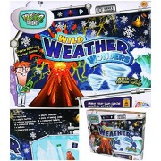 Wild Weather Wonders Educational Science Volcano Tornado Weird Science Kit Gift Perform Experiments