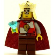 LEGO Castle Minifig Kingdoms Lion King Quarters