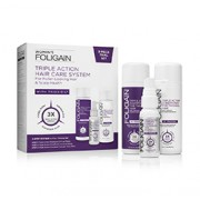 FOLIGAIN WOMEN'S TRIPLE ACTION COMPLETE SYSTEM FOR THINNING HAIR (3-Piece Starter/Trial Set)