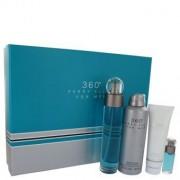 perry ellis 360 av Perry Ellis - Presentpaket Eau De Toilette Spray + Body Spray + Shower Gel +. Mini EDT Spray - för män