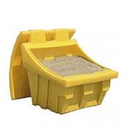 4390 150 literes műanyag homok-, kavics-, szóróanyag-, sótároló edény