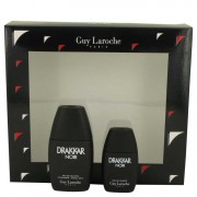 Guy Laroche Drakkar Noir Eau De Toilette Spray 1 oz / 29.57 mL + Mini EDT 0.5 oz / 14.79 mL Gift Set Men's Fragrances 538702
