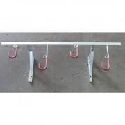 Fahrradaufhänger für Wandbefestigung Länge 1400 mm