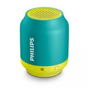 Тонколона Philips BT50A, 1.0, 2W, Bluetooth/3.5mm jack, зелена
