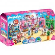 Playmobil Centro Comercial Paseo Con 3 Tiendas