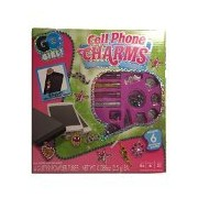 Go Girl! Cell Phone Charms Kit Includes 6 Create Your Own Charm