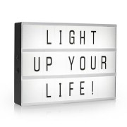 Smartwares LED Light box A3 med 85 tecken