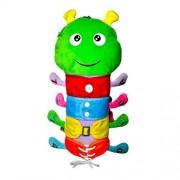 Healifty Plush Mochila Juguetes de Peluche para niños Aprendizaje temprano Juguetes de Habilidades básicas para la Vida