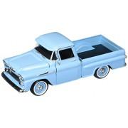 1958 Chevy Apache Fleetside Pickup 1/24 Light Blue