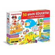 Clementoni 13351 la penna parlante 50 giochi educativi con 10 giochi multimediali