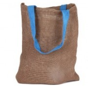 PRAHAN INTERNATIONAL Carry Bag Natural Juit Hand Carry Bag with two Handle Strap PS2007A(Natural Jute)
