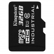 Card Kingston Industrial microSDHC 32GB 45 Mbs Clasa 10 UHS-I U1