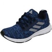 Adidas Men's Black Blue Lace-up Training Shoes