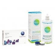 Biofinity contactlenzen Biofinity Toric CooperVision (6 lenzen) + Solunate Multi-Purpose 400 ml met lenzendoosje