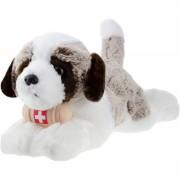 Merkloos Bruine Sint Bernard honden knuffels 32 cm knuffeldieren - Knuffel huisdieren