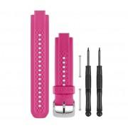 Bracelet Petit Garmin Rose/Blanc Forerunner 25