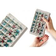 Pilulier - Pilbox Classic - Semaine - 4 cases