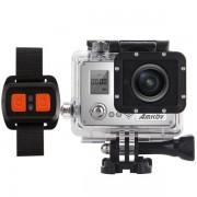 Camera Video de Actiune Amkov AMK7000S, 4K, 20MP, Wi-Fi, Waterproof, Microfon (Negru)