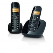Gigaset A490 Duo Cordless Landline Phone (Black)