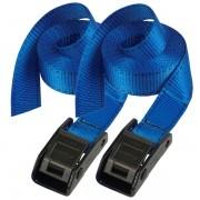 Set 2 ks upínací popruhy Master Lock 3110EURDATCOL - modrý - 250cm