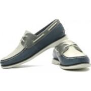 Clarks Quay Port Boat Shoes For Men(Navy, Beige, Grey)