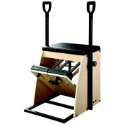 Silla Align Pilates: Cuatro posiciones y dos niveles de dureza para proporcionar una amplia variedad de resistencias