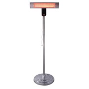 Stufa alogena da esterno antipioggia/antipolveri con piantana 2000W Vinco - 70166