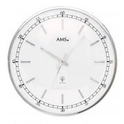 AMS 5608 Wandklok zendergestuurd metaal 40 cm ø