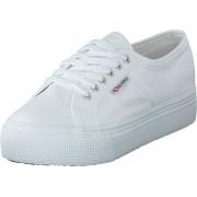 Superga Lady 2790-Cotw Linea and Down 901 white, Skor, Sneakers och Träningsskor, Låga sneakers, Vit, Dam, 38