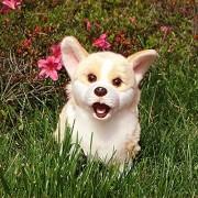 lliang Juguete de Peluche Cute Dog Plush Toy Real Life Animal de Peluche Simulación Suave para niños Niños Muñeca Regalos de cumpleaños