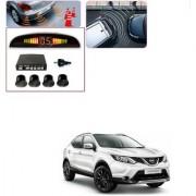 Auto Addict Car Black Reverse Parking Sensor With LED Display For Nissan Qashqai