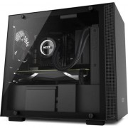 Carcasa desktop nzxt H200, fereastra, negru (CA-H200B-B1)