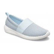 Crocs LiteRide™ Mesh Slip-On Schoenen Damen Mineral Blue / White 37