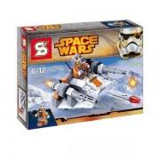 Star Wars - Snowspeeder 1 pilóta figurával – Sheng Yuan