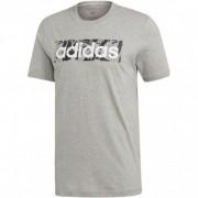 ADIDAS Мъжка тениска LIN AOP TEE - DV3044