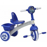 OH BABY HUD SEAT Tricycle with Cycle with Canopy COLOR (BLUE)SE-TC-94