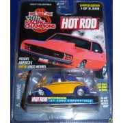 Hot Rod # 122 37 Ford Convertible