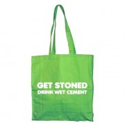 Get Stoned - Drink Wet Cement Tote Bag, Tote Bag