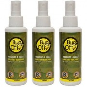 Bug Off Mosquito Insect Repellent Body Spray PACK OF 3