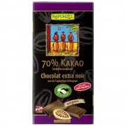 Ciocolata bio amăruie 70% cacao HIH