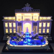 Brick Loot Trevi Fountain Lighting Kit for Lego 21020 Set by Brick Loot