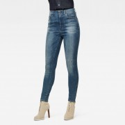 G-Star RAW Dames G-Star Shape High Super Skinny Ankle Jeans Blauw - Dames - Blauw - Grootte: 34-32 33-32 34-34 33-34 32-34 32-32 32-30 31-34 31-32 31-30 30-34 30-32 30-30 29-34 29-32 29-30 28-34 28-32 28-30 28-28 27-34 27-32 27-30 27-28 26-32 26-30 26-28