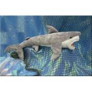 "Wishpets Stuffed Animal - Soft Plush Toy for Kids - 23"" Great White Shark"