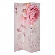 Paravan decorativ cu trandafiri roz