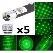 Green laser Pointer Laser Verde cu 5 Capete de Schimb