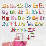 Sticker perete ABC Letters